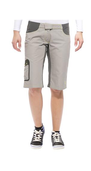 Edelrid Ripley korte broek Dames grijs